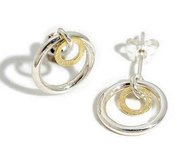 Linked Orbit Earrings