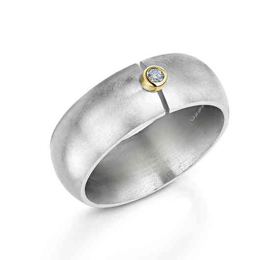 Rise Wide Band Ring