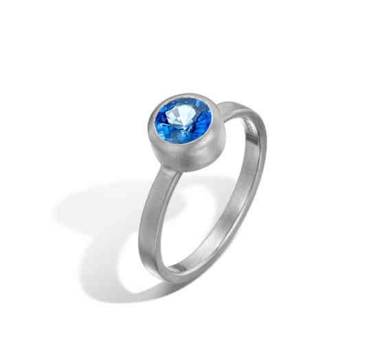 Sapphire Parallel Ring