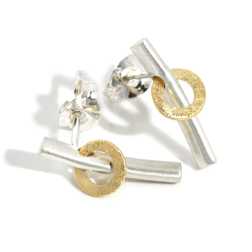 Bar Orbit Earrings