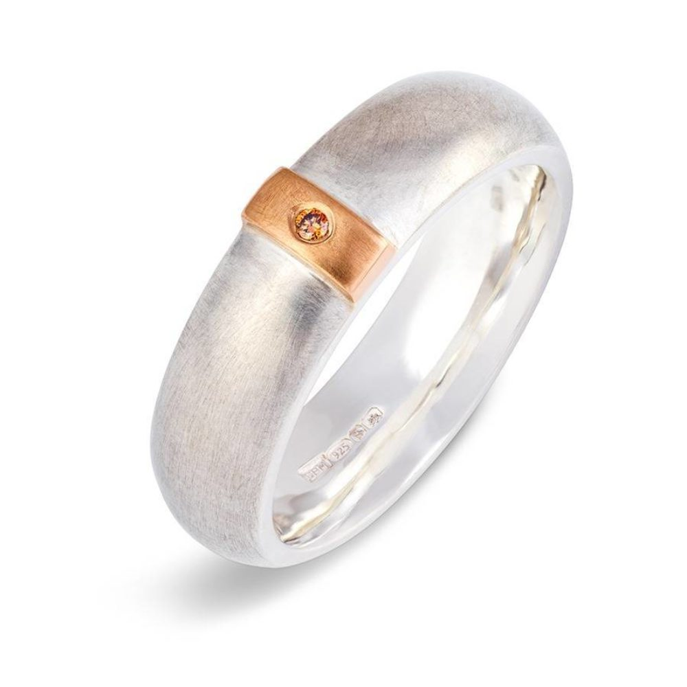 Cognac Linear Ring