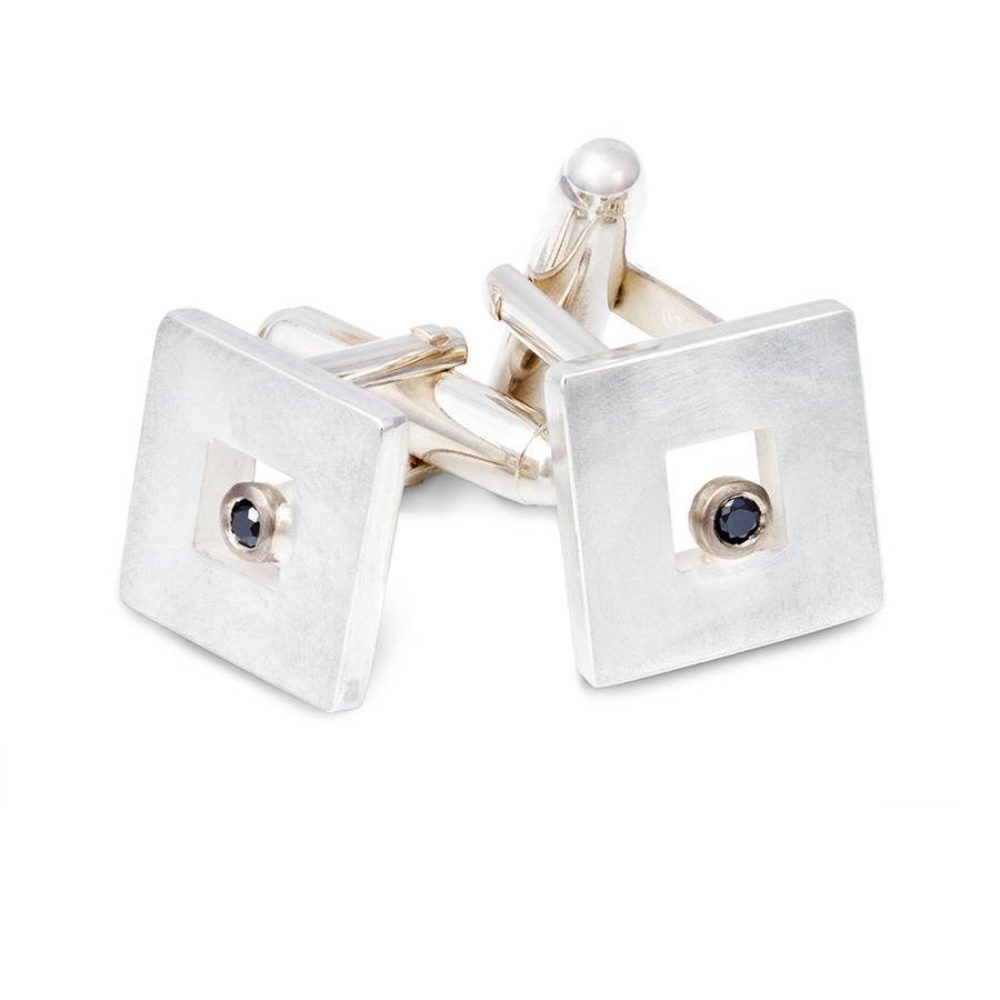 Original Black Diamond Cufflinks 2