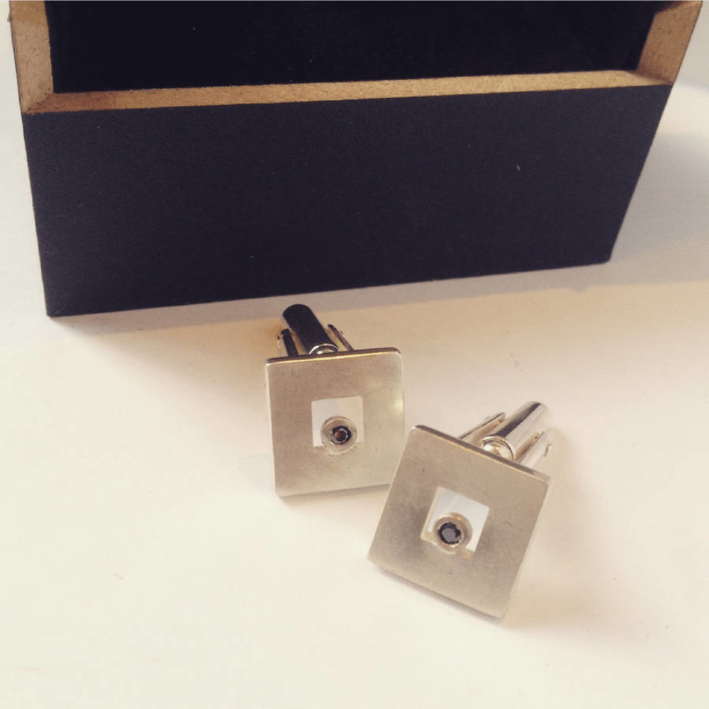Original Black Diamond Cufflinks